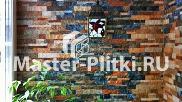 Отделка балкона плиткой и мозаикой